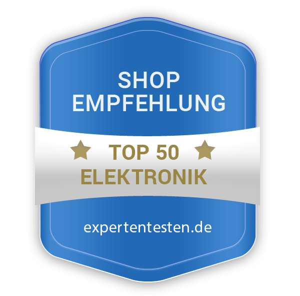 Top50 Elektronik Shops Siegel