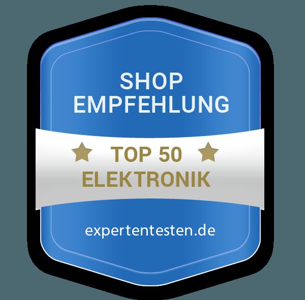 Top50 Elektronik Shops Siegel